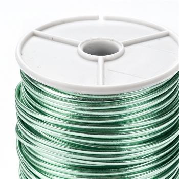 Шнур світло-зелений глянцевий шкірзам 1,5 мм