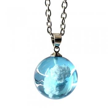 Ожерелье с подвеской голубого неба
