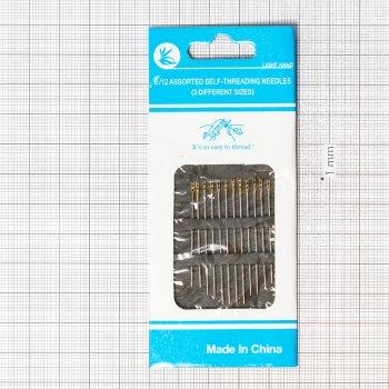 Набор иголок для шитья для слабовидящих (уп12шт)