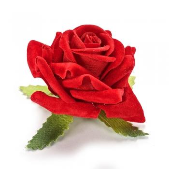 Штучна квітка Троянда червона