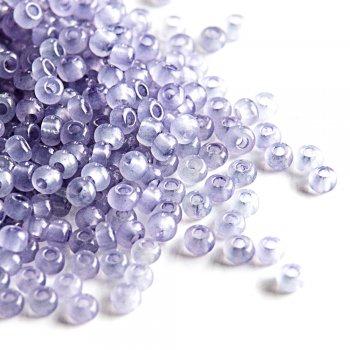 02121 чеський бісер Preciosa 5г фіолетовий / бузковий