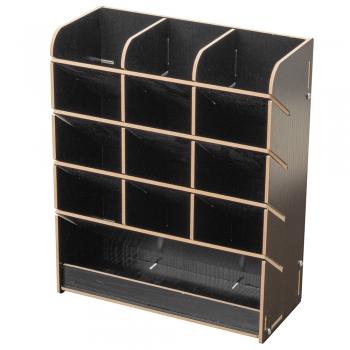 Органайзер для канцелярії дерев'яний 255х210мм коричневий
