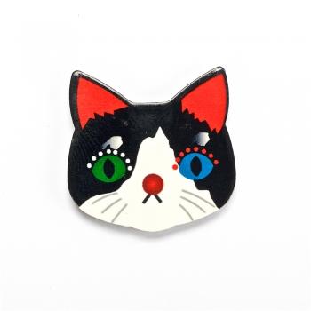 """Пластикові клейові елементи """"Кішка"""""""