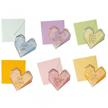 Конверт с открыткой Сердце