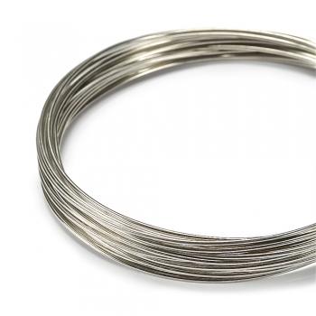 Дріт мідний 1 мм сріблястий котушка 4 м (-10%)