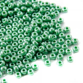 58250 чеський бісер Preciosa 5г зелений