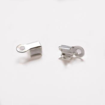 Зажимы для нитей серебристый 3 мм