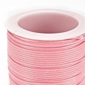 Шнур рожевий, бавовна, 1 мм