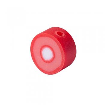 Бусина из полимерной глины Тропический фрукт красный 10 мм
