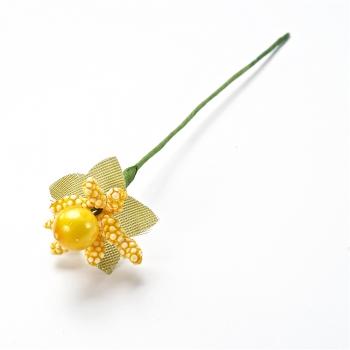 Декоративна тичинка, жовта з ягодами