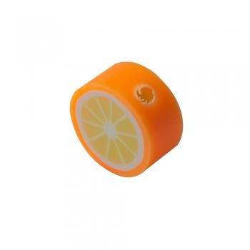 Бусина из полимерной глины Апельсин 10 мм