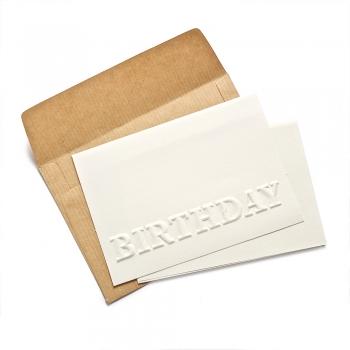 Открытка с конвертом Birthday