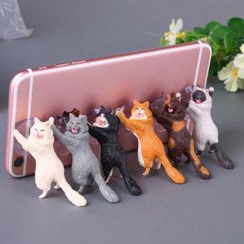 """Тримач для телефону """"Котяча підтримка"""""""