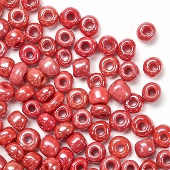 Бісер круглий великий червоний