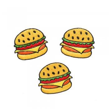 Тканевая нашивка Гамбургер