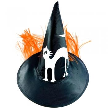 Шляпа декоративная с котиком