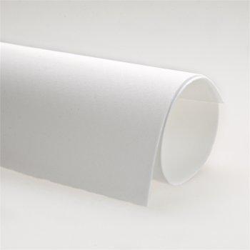 Фоаміран, білий, (Іран 01), А4, 1мм