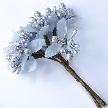 Декоративні елементи Срібний квітка