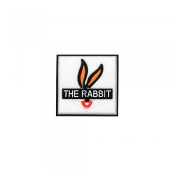 Резиновая (силиконовая) нашивка The rabbit