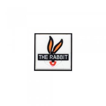Силіконова нашивка The rabbit
