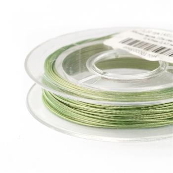Метал.ліска  світло-зелена 0,45 мм 1м
