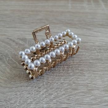 Заколка для волосся з перлами