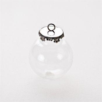 Колбы-подвески для браслетов, стекло