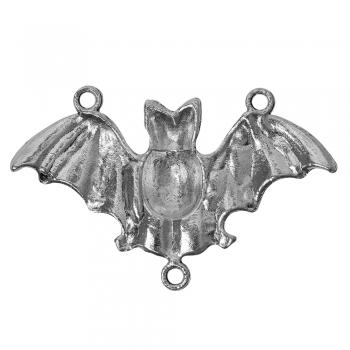 Металлическая подвеска- переходник Летучая Мышь