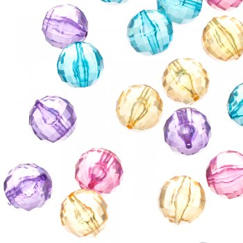 Пластиковые кристаллы 22 мм
