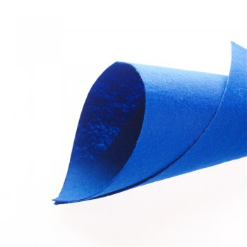 Фетр 1 мм Синій