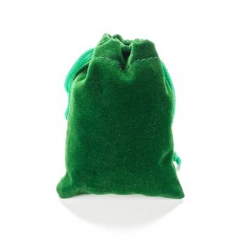 Мішечок оксамитовий 7х9 см зелений
