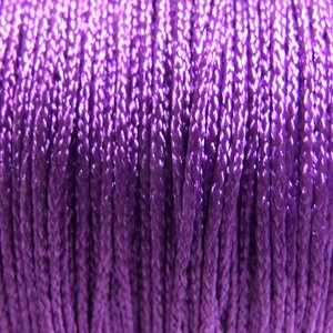 Шнур фиолетовый полиэстеровый 1 мм