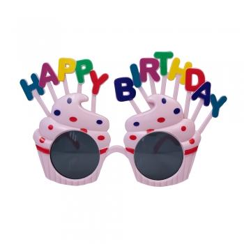 Очки кекс Happy Birthday