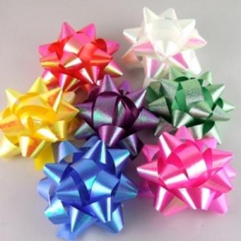 Бант для подарочной упаковки микс цветов 1 шт
