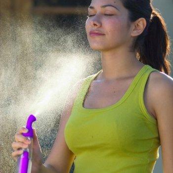 Распылитель «micro-mist technology»  для термальной воды, механический. Розовый