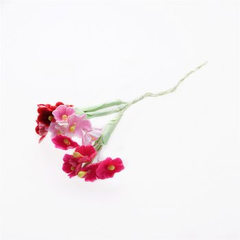 Искуственные цветы на веточке