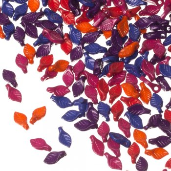 Пластик одноцветный опаковый микс 10 мм