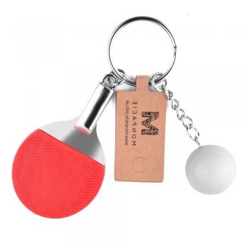 Пластиковая подвеска Ракетка для настольного тенниса