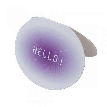 Открытка овальная Hello
