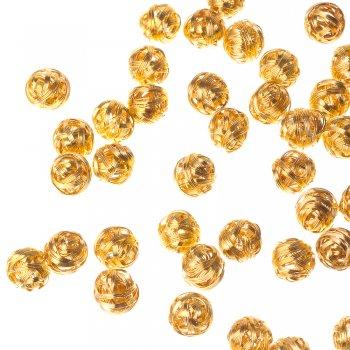 Проволочные элементы. Золотой. Диаметр 16 мм.