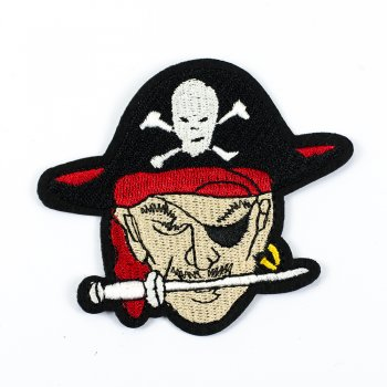 Тканинна нашивка Пірат