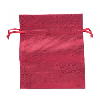 Мешочек полиэстеровый 12х10см красный