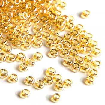16050 чешский бисер Preciosa 5г  золотой
