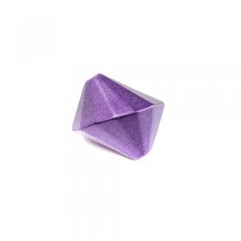 Пластик светорефлекторный фиолетовый. Бусина Юла