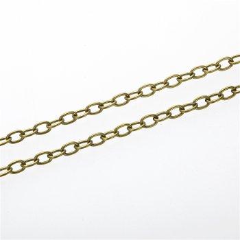 Ланцюг бронзовий якірний 4 х 5 х 1,2 мм