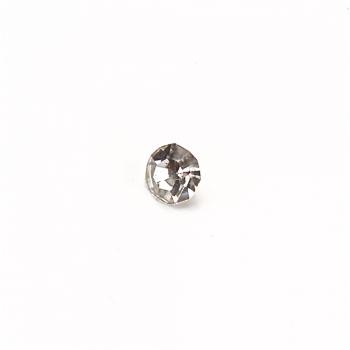 Страз стеклянный прозрачно белый 3,2 мм