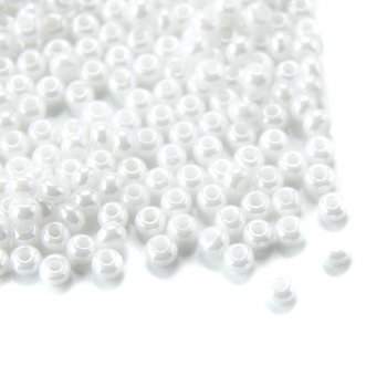 46102 чешский бисер Preciosa 50г  жемчужный