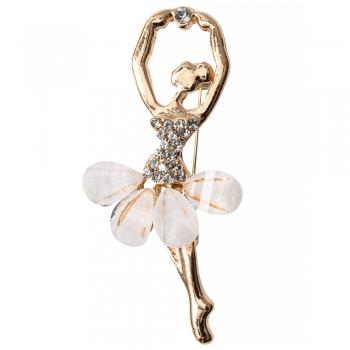 Брошка Балерина