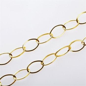 Ланцюг під золото великий якірний 15х23х1,8 мм