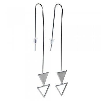 Сережки Два трикутника